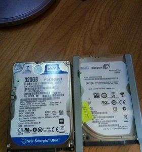 Жесткие диски для ноутбука SATA 320GB
