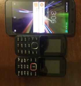 Комплект телефонов
