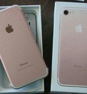 iPhone 7 Rose Gold 32gb новый