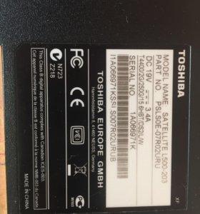 Корпус ноутбука Toshiba Satellite L500-203