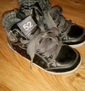 Кеды-ботиночки Р 17,5 по стельке