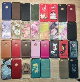Чехлы и стекла на iPhone 6