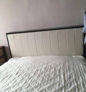 Кровать с матрасом аскона 160*220