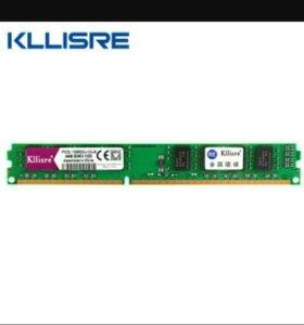 Оперативная память ddr3, 1600, 4G