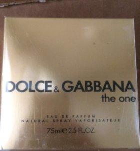 Женская туалетная вода dolce gabbana