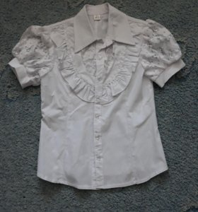 Блузка школьная,новая,рост 146-152