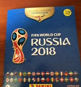 Наклейки Панини Panini Fifa World Cup russia 2018