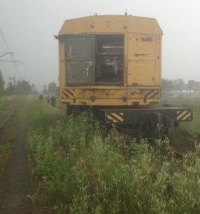 Железнодорожный дизель-электрический кран КЖДЭ-16