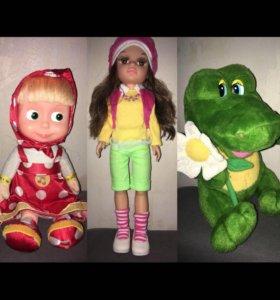 Поющие говорящие куклы игрушки