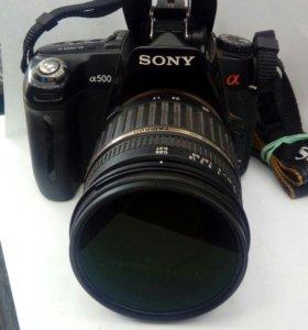 Фотоаппарат Sony a500
