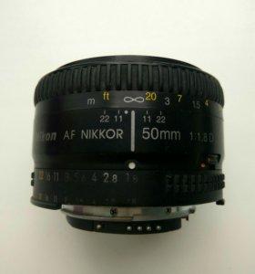 Объектив Nikor AF 50mm 1.8 D