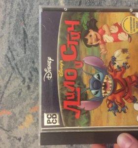 CD диск игровой «Лило и Стич»