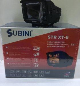Видеорегистратор Subini STR XT-6