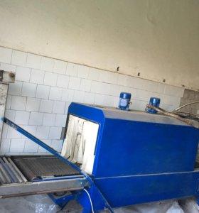 Оборудование термо упаковщик.