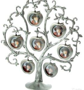 Фоторамка-дерево на 6 фото 25x8x26 см