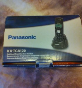 Дополнительная трубка Panasonic kx-tca120