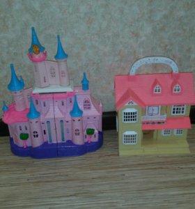 Домик и замок для девочек