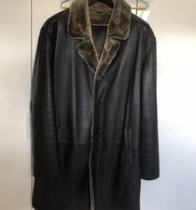 Дубленка мужская, пальто