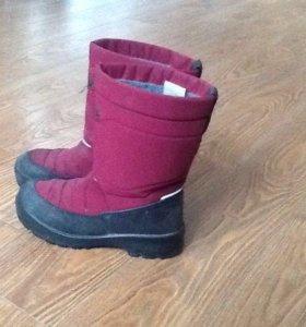 Куома ботинки зимние