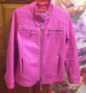 Куртка для девочки (кожзам)