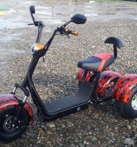 Электросамокат, трицикл, трайк Сити Коко