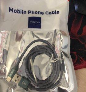 Кабель на iPhone 5-6-7-8-Х