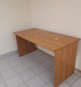 Добротный офисный стол 150 длина на 70 ширина, 2шт