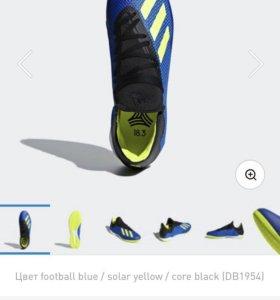 Футбольные бутсы adidas x tango 18.3 размер 3️⃣7️⃣