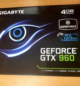 Gigabyte Geforce gtx 960 4GB