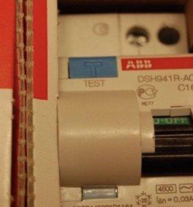 АББ дифференциальный автомат в щит