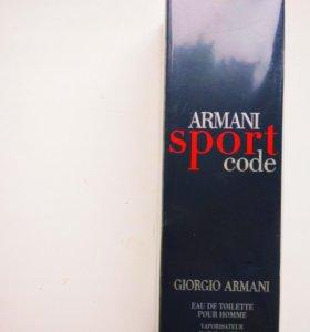 Духи Armani sport 100ml.