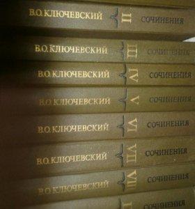 В.О.Ключевский Сочинения в 9 томах