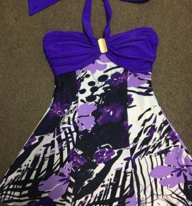 Новый купальник- платье