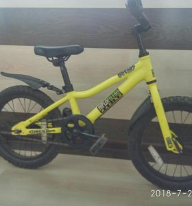 Commencal Ramones 16 детский велосипед