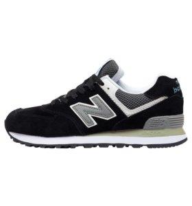 Кроссовки New Balance 574 Black Gray