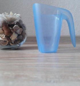 Мерные стаканы. Новые. 3 шт