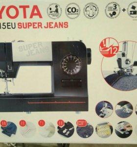 Швейная машина Toyota super jeans j15