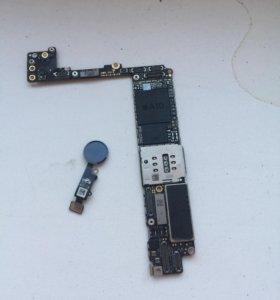 iPhone 7 Plus 128gb,мат.плата ,на запчасти