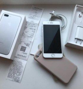 iPhone 7 Plus 32 Gb свежий на гарантии
