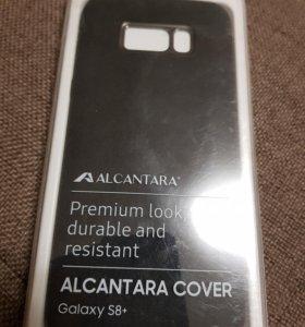 Чехол Alcantara cover для Samsung Galaxy S8 Plus