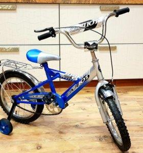 Велосипед новый 4-7 лет