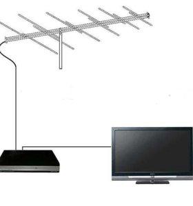 Телевизионные антенны, установка, ремонт, продажа.
