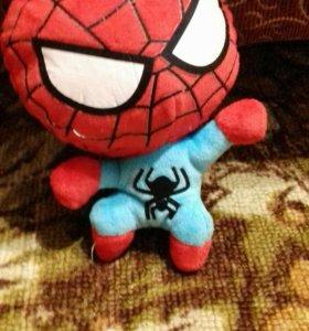 Человек-паук на липучке