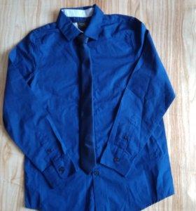 Нарядная рубашка с галстуком C&A Германия