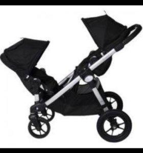 Коляска для двойни-погодок Baby Jogger city select