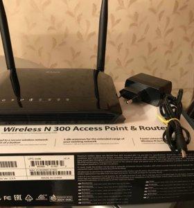 D-Link DAP-1360U точка доступа маршрутизатор