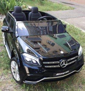 Электромобиль Mercedes Benz GLS63 4 WD Полнопривод