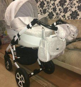 Стильная детская коляска 2 в 1 Adamex Barletta