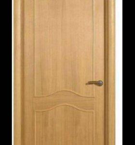 Двери с коробкой и наличниками