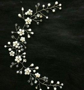 Свадебный украшение для волос